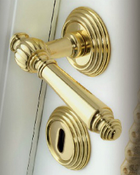 Interior door handles