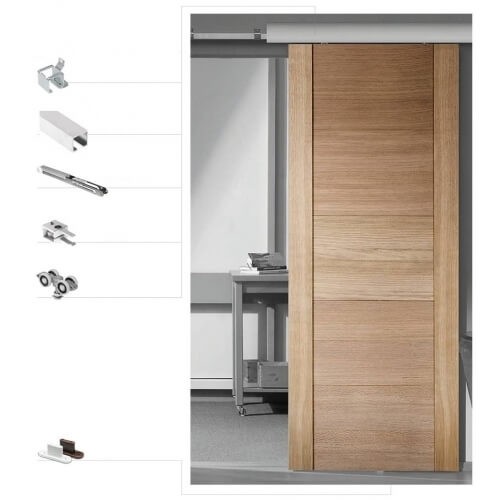 Delicieux Sliding Door Mechanism Valnes VAL167_2SETAL