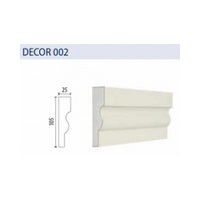 Decorative elements TENAPORS DECOR 002 with a quarth sand coating