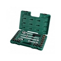 "24PC. 1/2"" DR. SOCKET SET (METRIC) - SATA 09060"