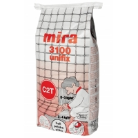 Tile glue with improved adhesion Mira 3100 unifix 25 kg