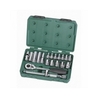"20PC. 1/2"" DR. SOCKET SET (METRIC) - SATA 09005"