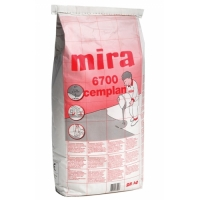 Self leveling screed for concrete floors Mira 6700 cemplan 25 kg
