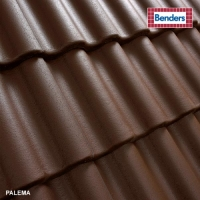 Concrete roof tiles Benders Palema