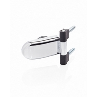 Hinge for glass Abloy