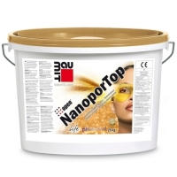 Self-cleaning decorative plaster Baumit NanoporTop 25 kg