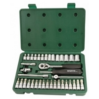 "38PC. 1/4"" DR. SOCKET SET (METRIC) - SATA 09002"