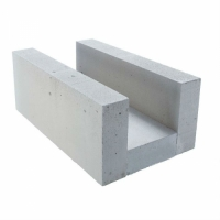 Aerated concrete U-blocks Roclite