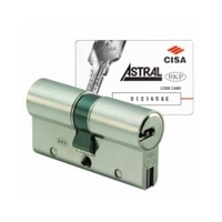 Euro cylinder Cisa Astral