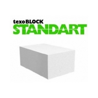 Aerated concrete block Standart LIGHT 300