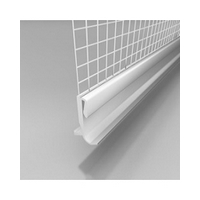 LTO PVC drip ledge with mesh