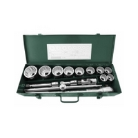 "15PC. 3/4"" DR. SOCKET SET (METRIC) - SATA 09015"