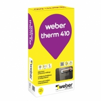 Adhesive and reinforcement plaster Weber Therm 410 25 кг