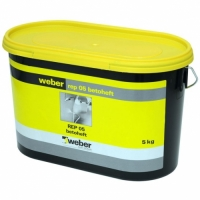 Cement mortar for improved adhesion and corrosion protection of steel reinforcement Weber REP 05 5 kg