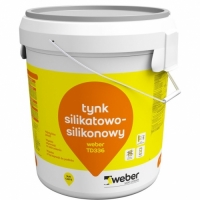 Decorative silicate-silicone plaster Weber TD336 30 kg