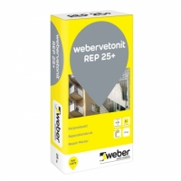 Repair concrete mortar Weber Vetonit REP 25+ 25 kg