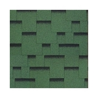 Bitumen Shingles CLASSIC ACCORD PRAGUE 1421X green